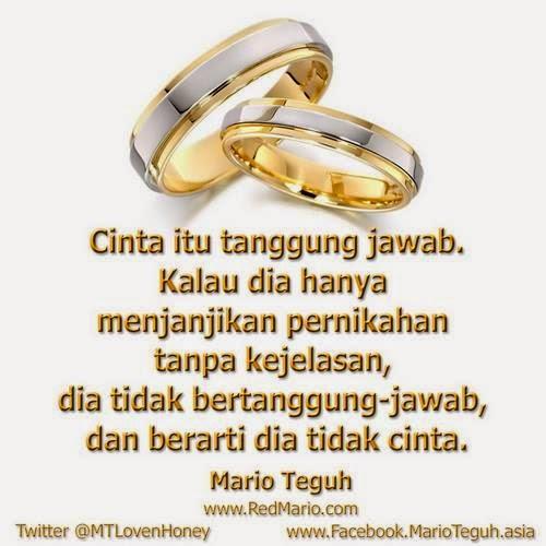 Cinta itu tanggung jawab DP BBM Mario Teguh