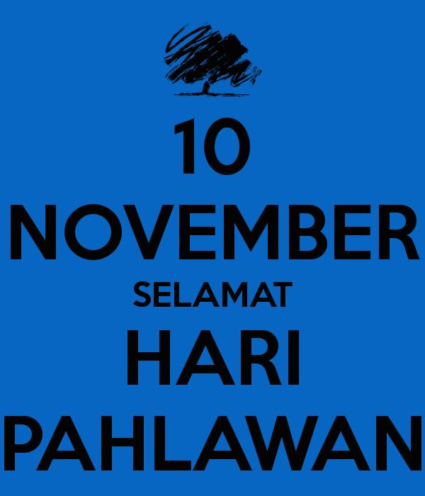 DP BBM 2015 10 november Selamat hari pahlawan