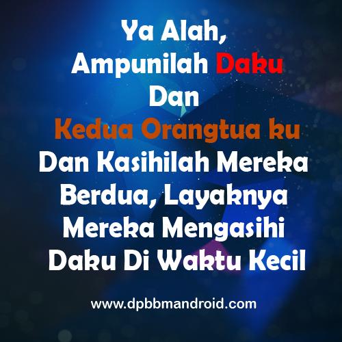 DP BBM 2015 Ya Allah Ampunilah Daku