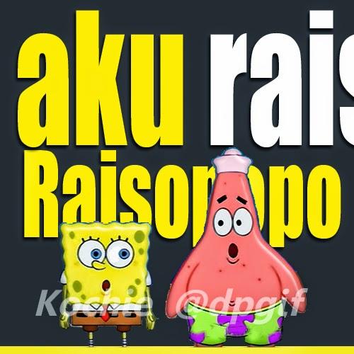 DP BBM Aku Raiso Raisorapopo