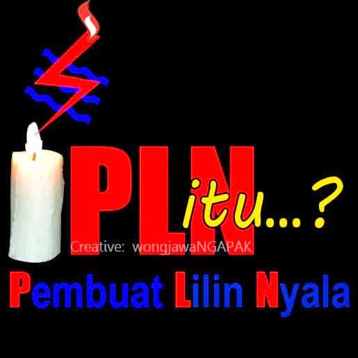 DP BBM Semangat PLN Itu Pembuat Lilin Nyala