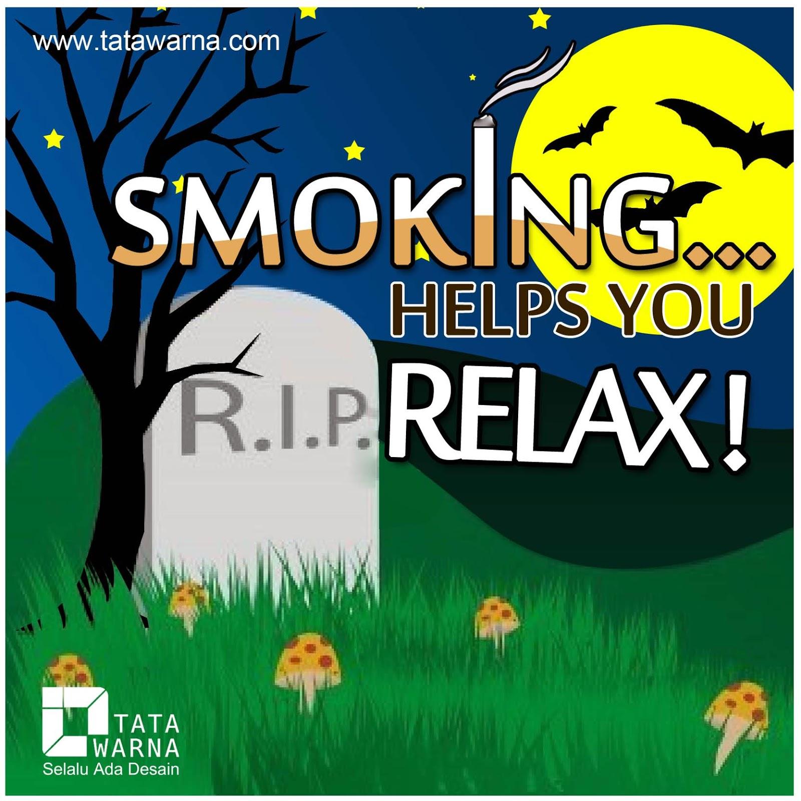 DP BBM Cinta Smoking Helps You RIP Relax