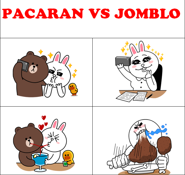 DP BBM Lucu Pacaran Vs Jomblo