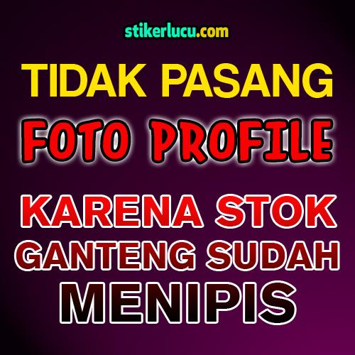 DP BBM Lucu Tidak Pasang Foto Profil