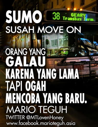 DP BBM Romantis Sumo Susah Move On