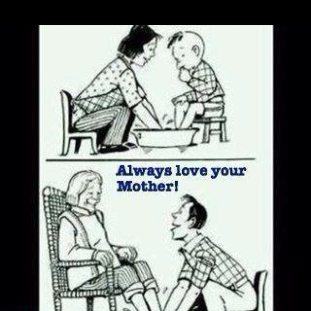 DP BBM Sedih Always Love Your Mother