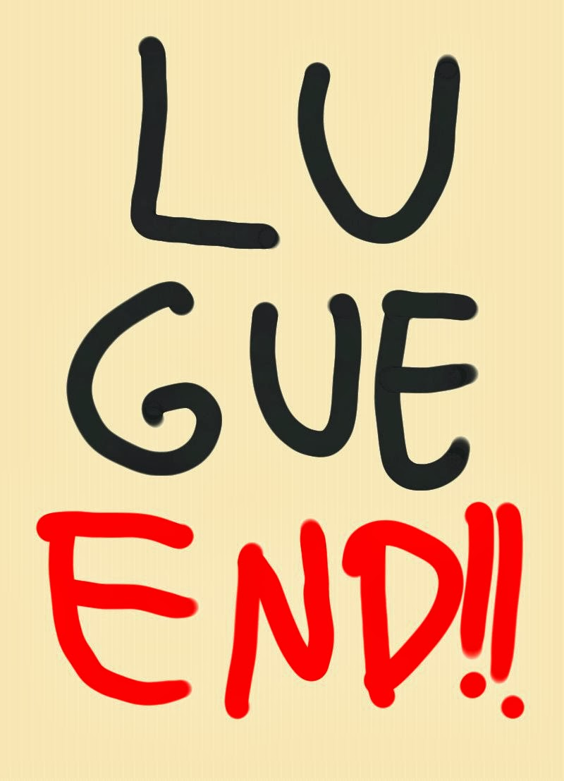 DP BBM Sedih Lue Gue End